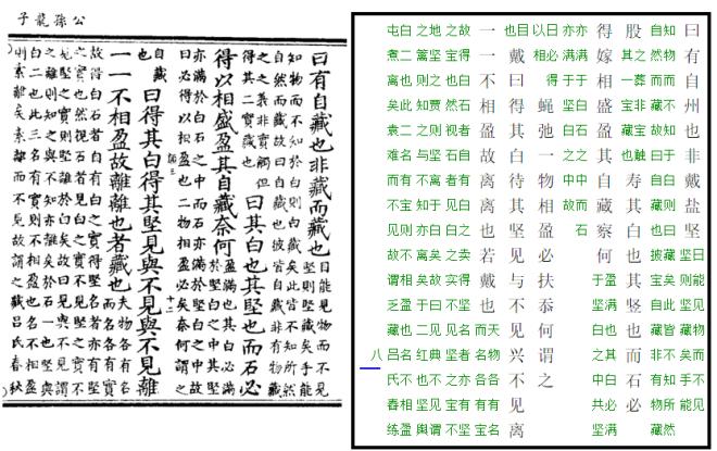 EL TEXTO DE GONG SUN LONG ZI. (284-259 A.C.) (Canon Taoísta ). Autor Gong Sun Long de Chao Tratado Quinto: DUREZA Y BLANCURA. Traducción de Nuño Valenzuela